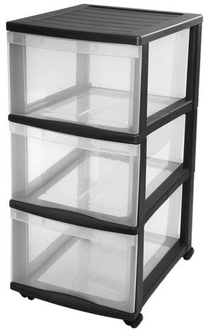 tour de rangement optimo 3 tiroirs 45 l brico d p t. Black Bedroom Furniture Sets. Home Design Ideas