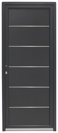 porte d entr e aluminium droite brico d p t. Black Bedroom Furniture Sets. Home Design Ideas