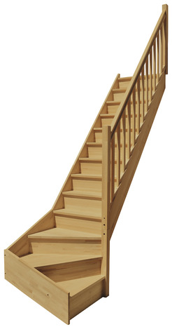 escalier quart tournant droit brico depot