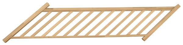 rampe bois pour volee hetre 14t la rampe bois 14 tournant brico dpt - Rampe Escalier Brico Depot1998
