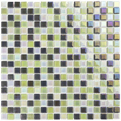 mosa que iris e mix vert blanc brico d p t. Black Bedroom Furniture Sets. Home Design Ideas