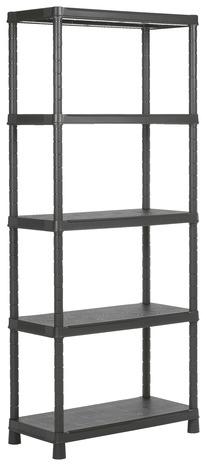 tag re en r sine 5 tablettes 300 kg max brico d p t. Black Bedroom Furniture Sets. Home Design Ideas