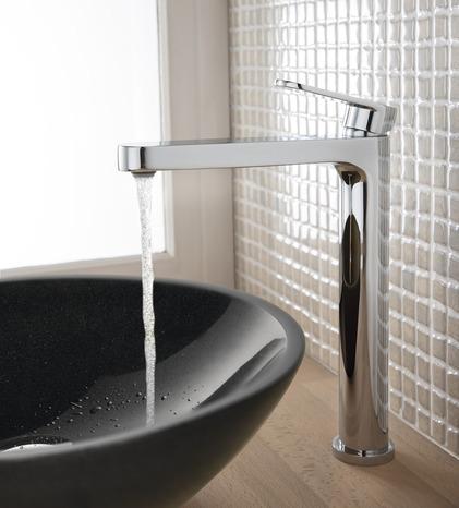 mitigeur de lavabo haut lima chrom h 27 cm brico d p t. Black Bedroom Furniture Sets. Home Design Ideas
