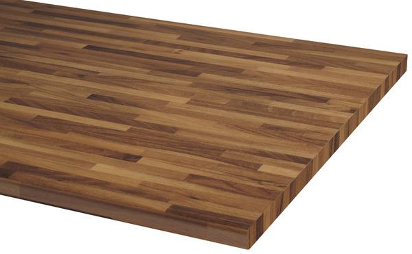 plan de travail hydro 2600x630x28 mm d cor noyer lamell. Black Bedroom Furniture Sets. Home Design Ideas