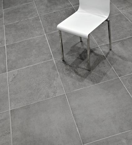 Gr s c rame gris aspect pierre pour sols int rieurs 60 5x60 5 cm brico d p t - Brico depot carrelage interieur ...