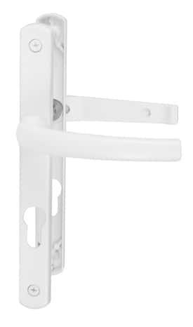 En PVC Brico Dépôt - Porte de garage sectionnelle avec poignée de porte pvc a clé