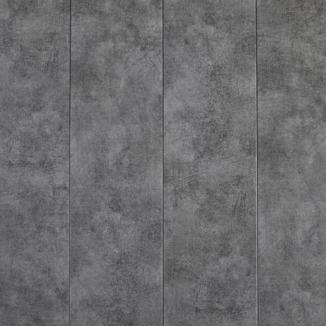 lambris revtu dcor imitation bton gris fonc - Lambris Salle De Bain Brico Depot