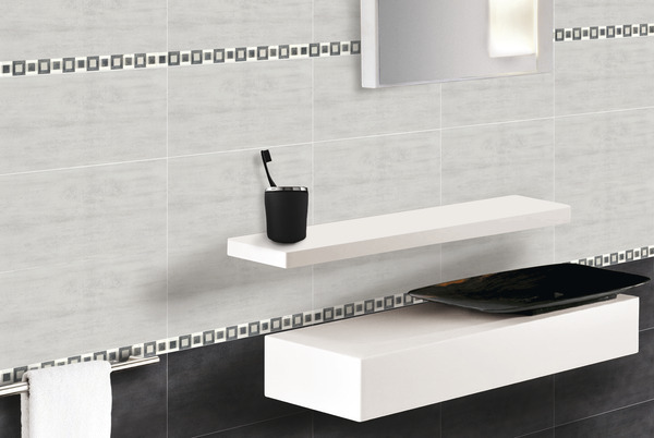 carrelage roma grigio gris en fa ence 20x40 cm brico d p t. Black Bedroom Furniture Sets. Home Design Ideas