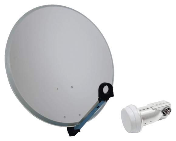 Antenne satellite parabole pour la r ception de la for Orientation antenne tnt exterieur