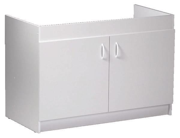 meuble sous vier 2 portes larg 120 cm brico d p t. Black Bedroom Furniture Sets. Home Design Ideas