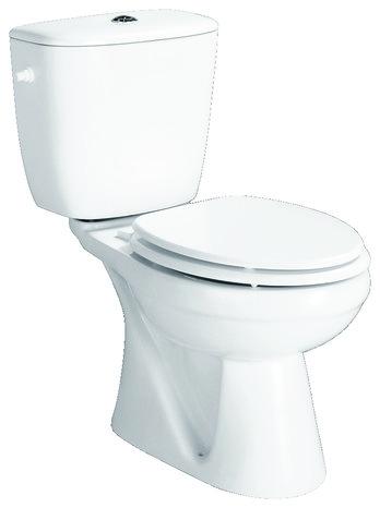 Pack wc sydney sortie verticale h 55 cm l 39 cm prof - Wc sureleve sortie verticale ...