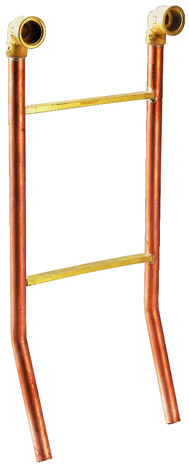 m langeur ou mitigeur bain douche mural en cuivre anti corrosion m le 15x21 mm femelle 15x21. Black Bedroom Furniture Sets. Home Design Ideas