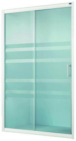 porte coulissante lagon verre d poli h 185 cm l 100 cm krone brico d p t. Black Bedroom Furniture Sets. Home Design Ideas