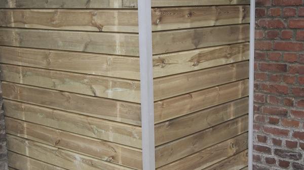 profil d 39 angle sortant aluminium l 3 m x p 19 21 mm brico d p t. Black Bedroom Furniture Sets. Home Design Ideas
