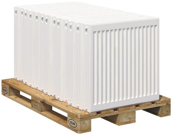 radiateur acier performa 406 w h 60 x l 40 cm brico d p t. Black Bedroom Furniture Sets. Home Design Ideas