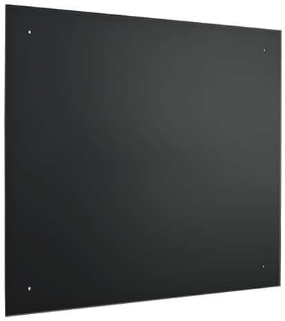 Fond De Hotte En Verre Noire 60 X 70 Cm Brico Depot