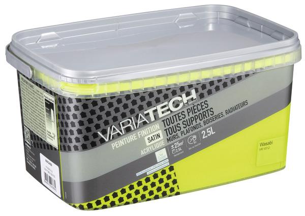 multisupport satin wasabi toutes pièces intérieures 2,5 l