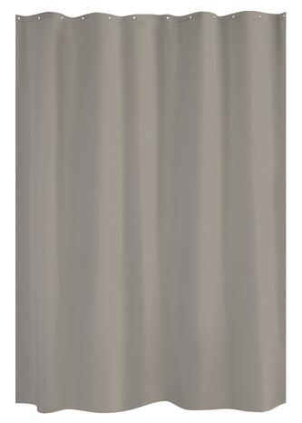 Rideau De Douche Anti Moisi Ton Taupe En Polyester 180x200 Cm