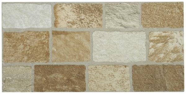 gr s c rame aspect pierre pour murs et sols ext rieurs 30x60 cm brico d p t. Black Bedroom Furniture Sets. Home Design Ideas