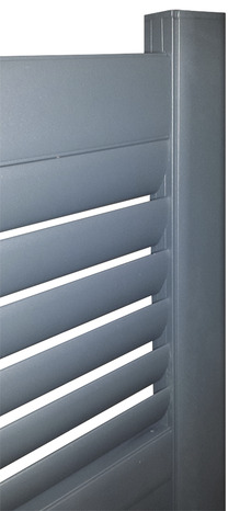 portail aluminium haut 1 60 m magasin de bricolage. Black Bedroom Furniture Sets. Home Design Ideas