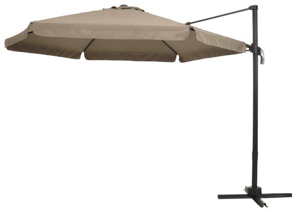 Parasol d port rond 360 le parasol brico d p t - Piece detachee parasol deporte ...