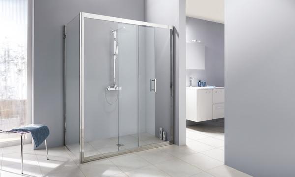 porte coulissante kroma verre transparent h 195 cm l 120. Black Bedroom Furniture Sets. Home Design Ideas