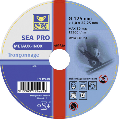 Disque A Tronconner Metal Et Inox O 125 Mm Ep 1 Mm Brico Depot