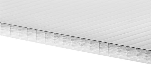 plaque polycarbonate alv olaire p 10 mm transparente 2 x. Black Bedroom Furniture Sets. Home Design Ideas