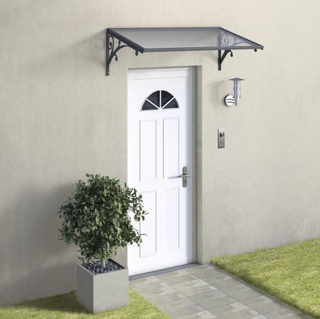 marquise polycarbonate trait anti uv la marquise brico d p t. Black Bedroom Furniture Sets. Home Design Ideas