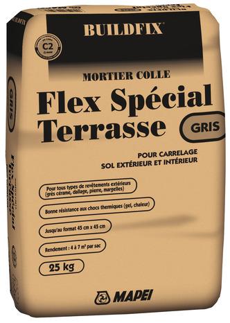 Mortier Colle Flex Special Terrasse 25 Kg Brico Depot