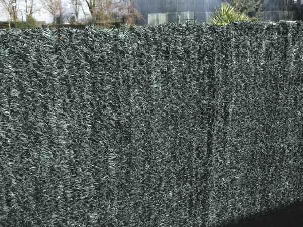 haie artificielle vert pvc h 1 20 m x l 3 m brico d p t. Black Bedroom Furniture Sets. Home Design Ideas