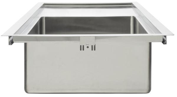 vier inox urban 1 cuve brico d p t. Black Bedroom Furniture Sets. Home Design Ideas