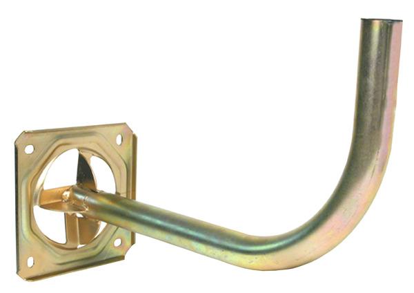Bras de d port antenne en acier bichromat 40 mm brico for Antenne tnt exterieur brico depot