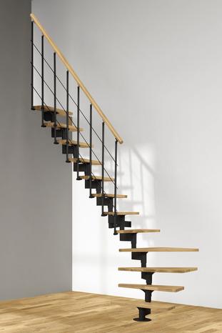 Escaliers Modulaires Hêtre Et Métal L Escalier Brico Dépôt