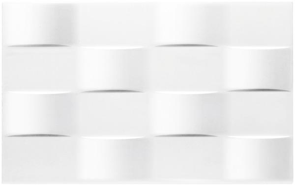 Tunis blanc brillant rectangulaire 25x40 cm Ep. 8 mm - Brico Dépôt