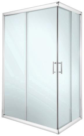 acc s d 39 angle droit lagon chr tstp 80x120x185 cm brico d p t. Black Bedroom Furniture Sets. Home Design Ideas