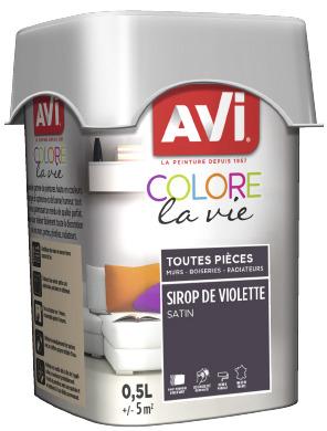 Peinture Multi Support 0 5l Satin Violette Violette 0 5 L Brico Depot