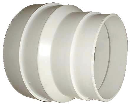 r ducteur pvc pour gaine diam 80 100 mm brico d p t. Black Bedroom Furniture Sets. Home Design Ideas