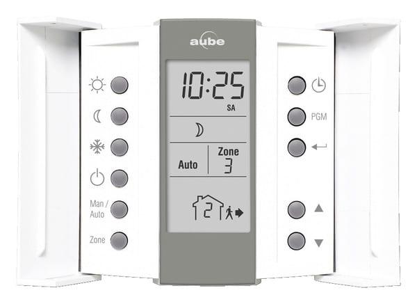 thermostat programmable branch sur unit 4 ou 6 ordres brico d p t. Black Bedroom Furniture Sets. Home Design Ideas