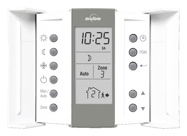 thermostat programmable branch sur unit 4 ou 6 ordres. Black Bedroom Furniture Sets. Home Design Ideas