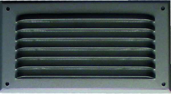 Grille metal horiz 190x100 alu anodise brico d p t - Grille aeration brico depot ...