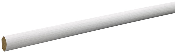 quart de rond en bois massif ou mdf aspect ch ne clair mm ep 16 5 mm brico d p t. Black Bedroom Furniture Sets. Home Design Ideas