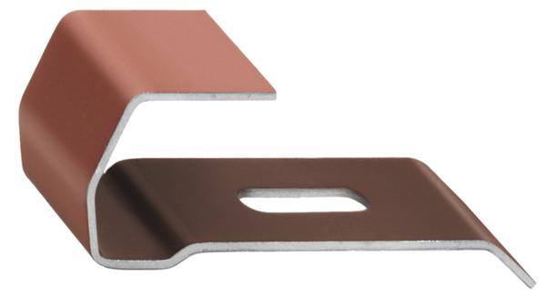 lot de 50 clips pour fa ti re pyramide brico d p t. Black Bedroom Furniture Sets. Home Design Ideas
