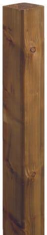 Poteau Paysager Bronze L 2 40 M Section 12 X 12 Cm Brico Depot