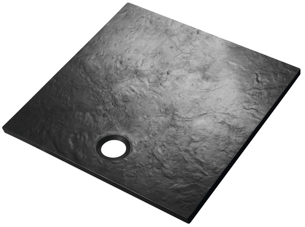 receveur 80 x 80 cm stone ardoise 80 x 80 cm brico d p t