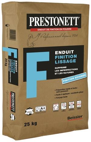 Enduit de finition en poudre sac de 25 kg brico d p t - Enduit joint placo brico depot ...