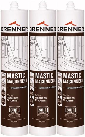 Mastic Pour Bton Et Pltre Blanc  X  Ml  Brico Dpt