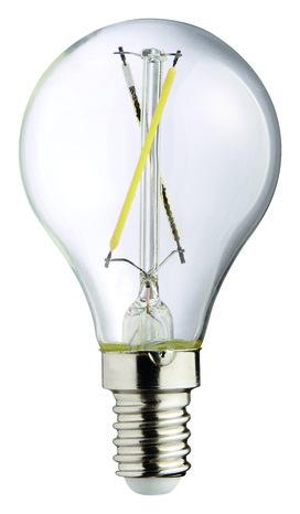 ampoule led filament sph rique 25 w 2700 k brico d p t. Black Bedroom Furniture Sets. Home Design Ideas