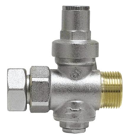 R ducteur de pression en laiton m le femelle sp cial chauffe eau 20x27 mm brico d p t - Reducteur pression chauffe eau ...