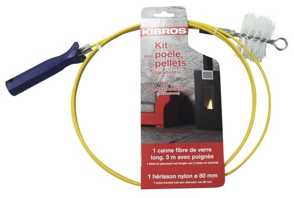 Kit d 39 entretien et de ramonage pour po le pellets - Kit de ramonage ...